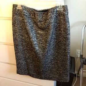 J. Crew Sparkle Tweed Skirt